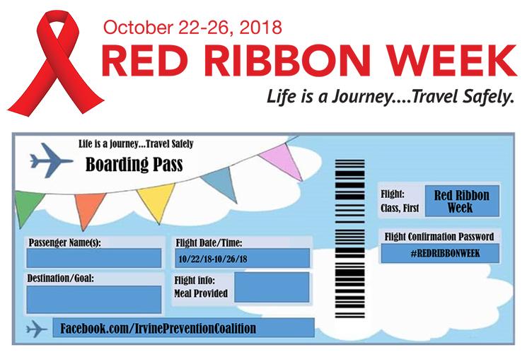 Red Ribbon Week: Oct. 22-26