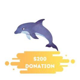 200 donation