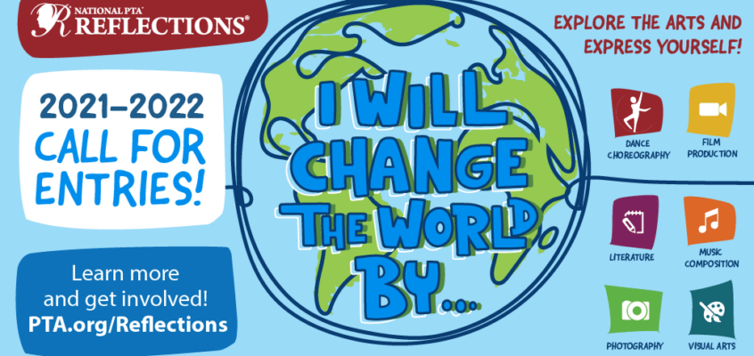 """Eastshore PTA Reflections program———-  """"I will change the world by.."""""""