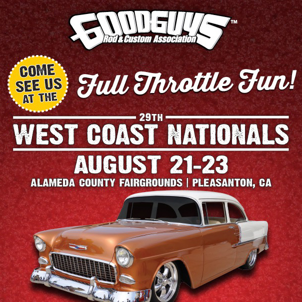Imagine Injection at the 29th west coast nationals  by GoodGuys Rod and Custom Association