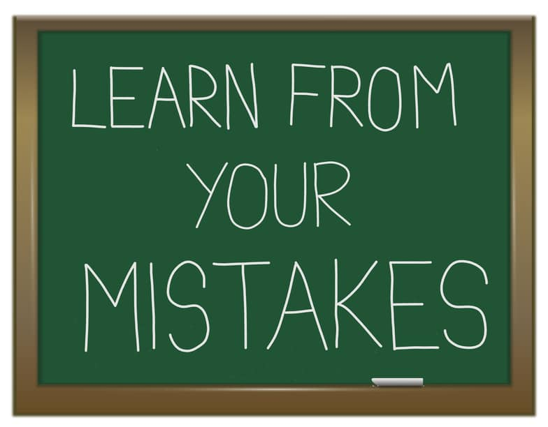 One of the biggest mistakes I made working online…