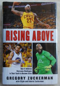 rising-above sports book about perseverance