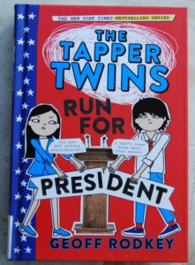 tapper-twins-run-for-president get kids educated on the election process