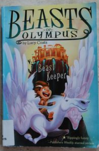 beasts-of-olympus early reader series about greek mythology