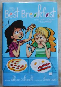 pizza is the best breakfast realistic early chapter book