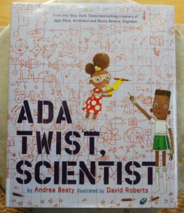 Ada Twist STEM picture book for budding scientists