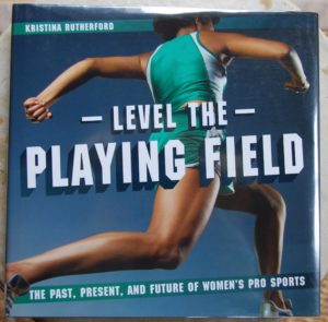 level the playing field book about female athletes