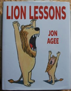 lion lessons comical picture book