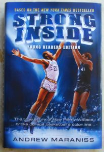 strong inside thought provoking book for young basketball fans
