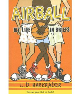 airball book for kids inspired by basketball