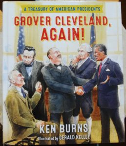 grover cleveland again history of american presidents