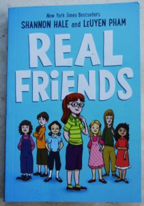 real friends graphic novel about managing friendships