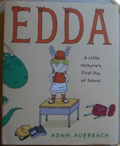 even vikings can have trouble the first day of school Edda