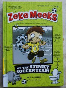 entertaining early chapter book zeke meeks