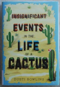 charming and memorable book for kids insignificant events in the life of a cactus