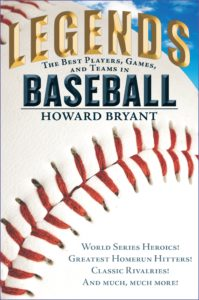 book for young baseball fans legends in baseball