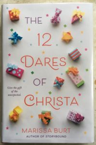 book filled with christmas adventure 12 dares of Christa
