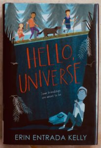 what about this Newbery winner hello universe