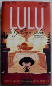my favorite early chapter book series is back lulu is getting a sister