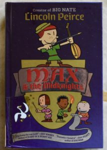 new series from the creator of big nate max and the midnights