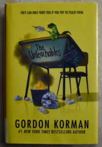 entertaining middle grade read the untouchables