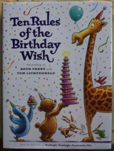 let's party it's your birthday ten rules of the birthday wish