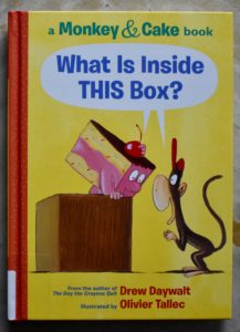 is there a cat in that box monkey and cake book