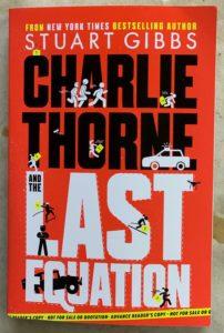 new offering from Stuart Gibbs Charlie Thorne