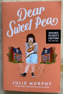 middle grade book from the author of Dumplin' Dear Sweet Pea