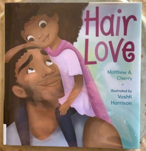 charming book about hair and bonding hair love