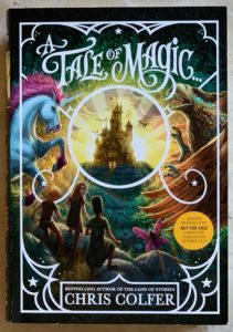 new series from Chris Colfer A tale of magic