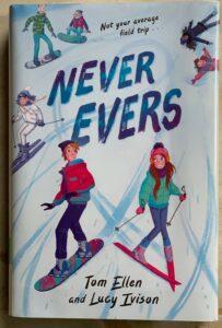 fun book for winter break never evers