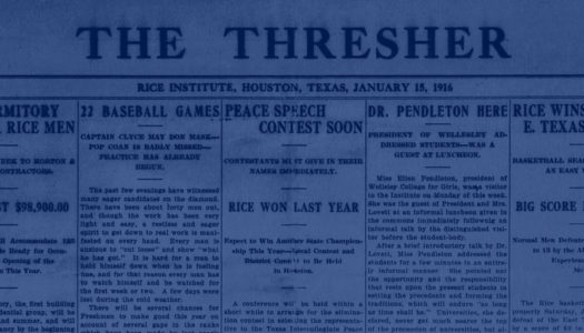 100 Years of the Thresher