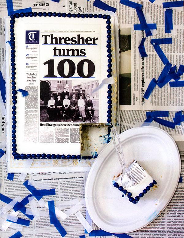 Thresher Cake
