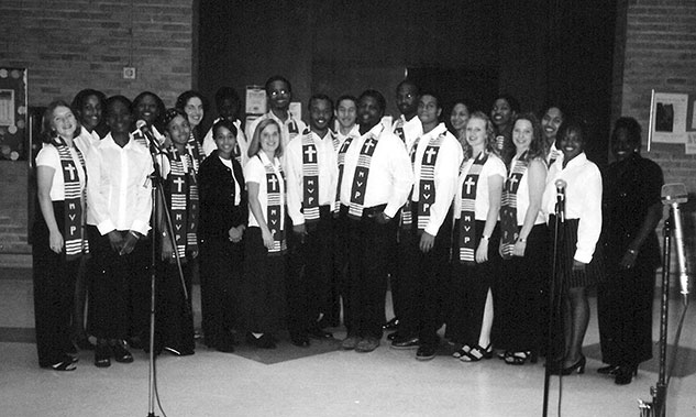 Melodious Voices of Praise in 1999. Courtesy of June Marshall