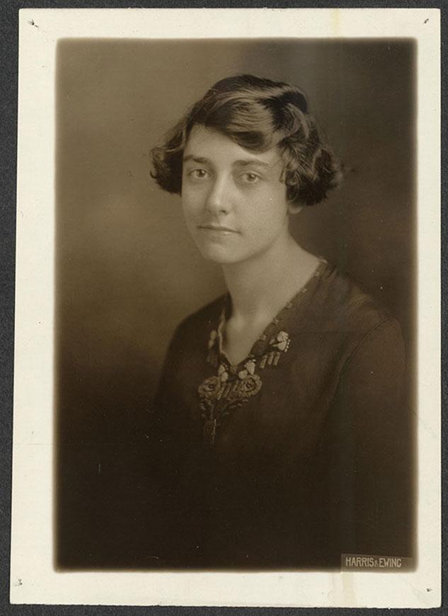 Elizabeth Kalb. Courtesy of Library of Congress