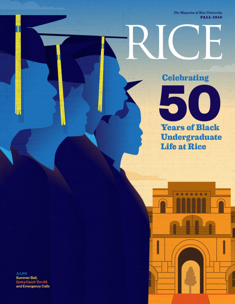 Fall cover, Rice Mag