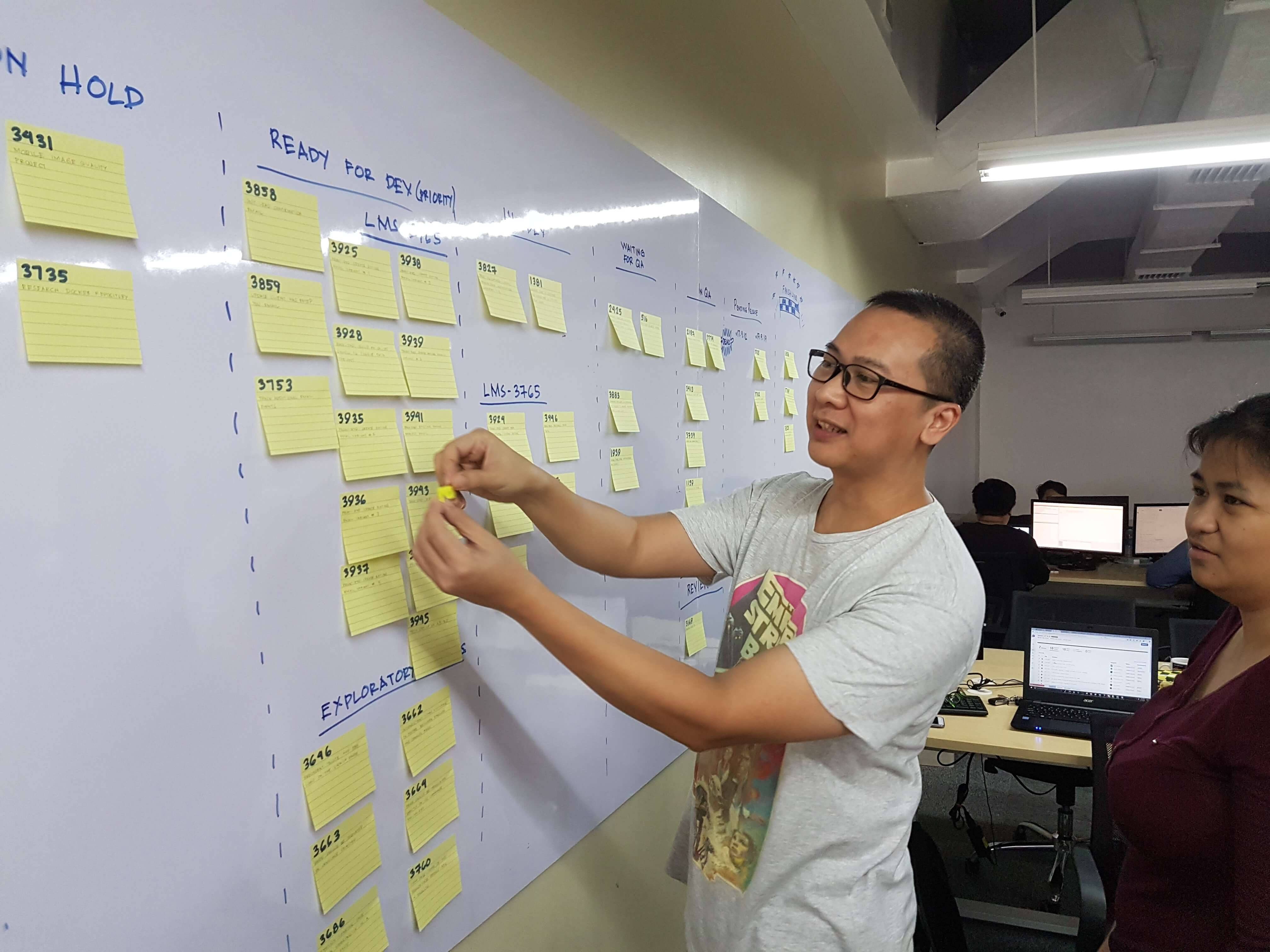 AGILE: The Why and How we do it