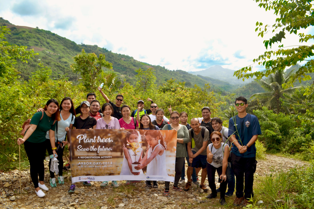 LegalMatch Philippines joins Tree Planting Activity on Arbor Day