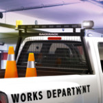 BACKRACK Safety Rack Guard with Lights