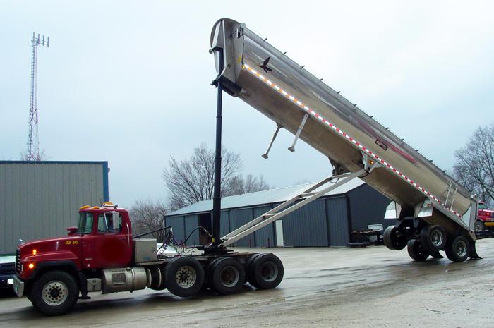 End Dump Truck >> Aluminum End Dump 1