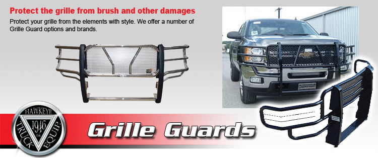 pick up truck grille guards