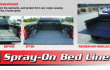 Spray-On Bed Liners