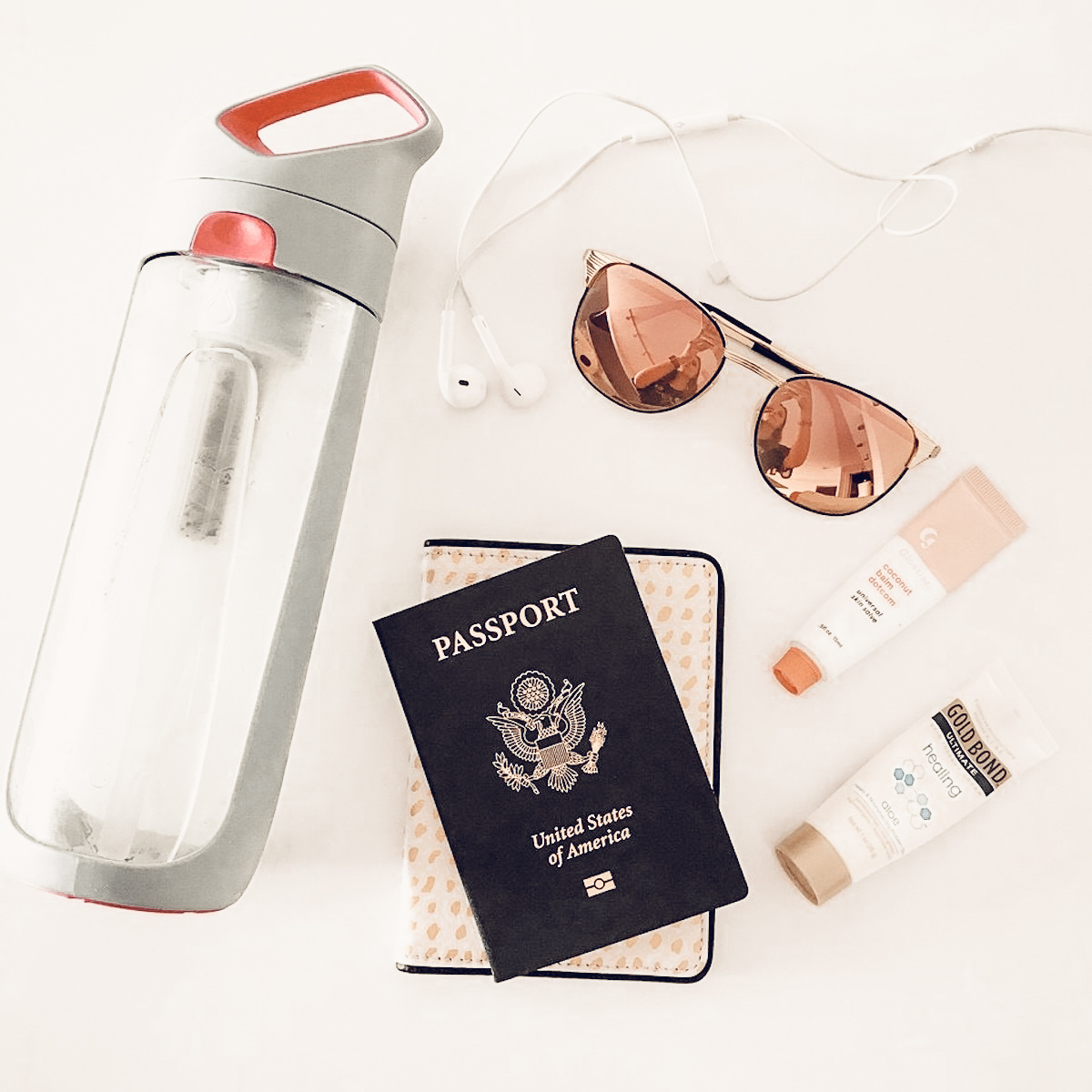 Travel must haves KOR water bottle