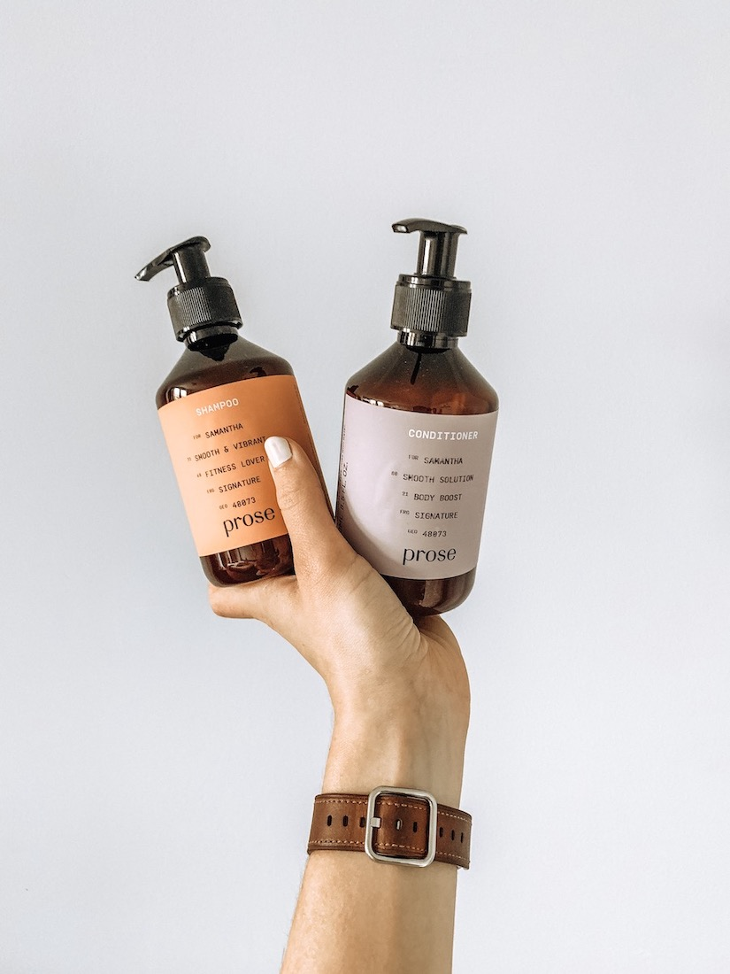 Prose Shampoo and Conditioner Sam