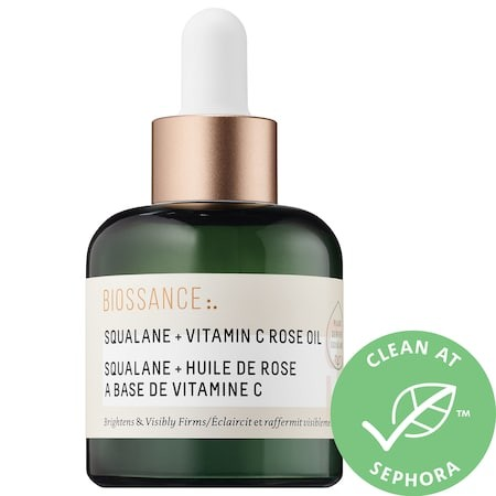 Biossance Squalane + Vitamin C Rose Oil