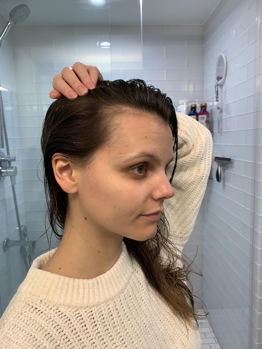 Organic Olivia Mane Magic Hair Tonic Results