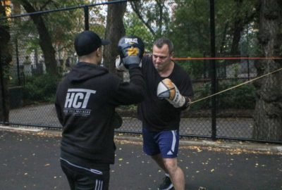 Doron adding speed to his punch