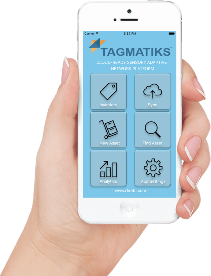 Tagmatiks app helps deploy RFID in Manufacturing and allows on the go decision making.