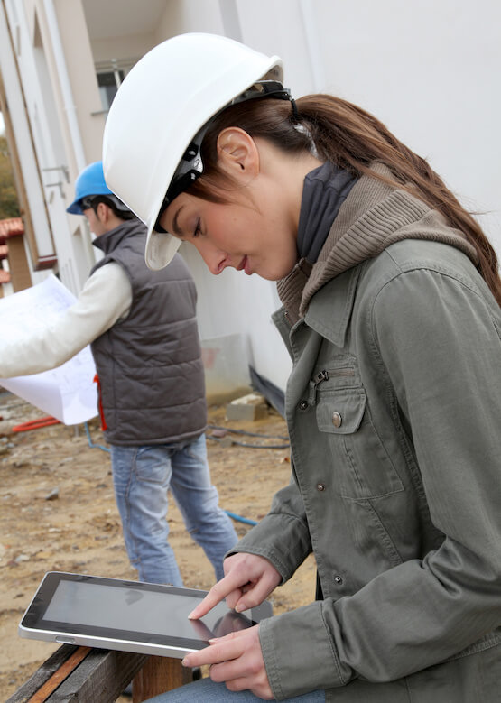 RFID in Construction utilizes mobile apps for asset management on the go.